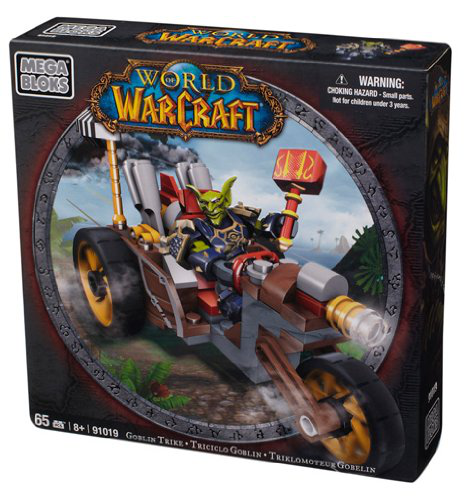 Mega Bloks World Of Warcraft Mount Assortment