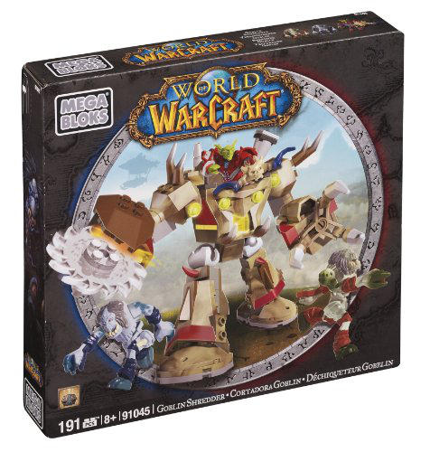 Mega Bloks World Of Warcraft - Goblin Schreder